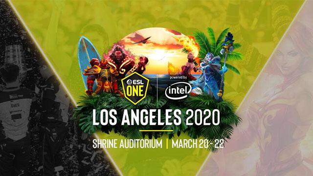 ESL One洛杉矶Major 2020