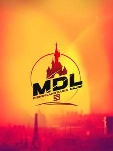DOTA2MDL 巴黎迪士尼Major直播